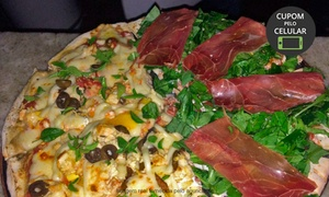 4 Stagioni: 4 Stagioni – Setor Nova Suíça: 1 ou 2 pizzas com 8 pedaços cada