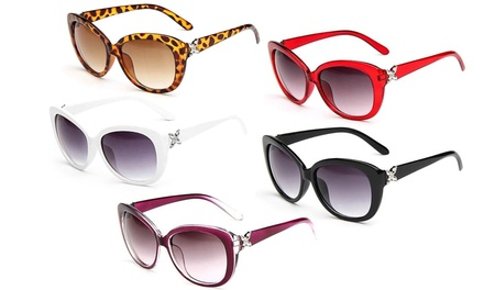 One, Two, or Three Pairs of Katie Style Outsized Chic Sunglasses from Novadab (Up to 91% Off)