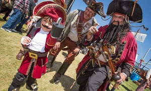 Northern California Pirate Festival: Two Tickets to Northern California Pirate Festival on June 18 and 19 (Up to 25% Off)