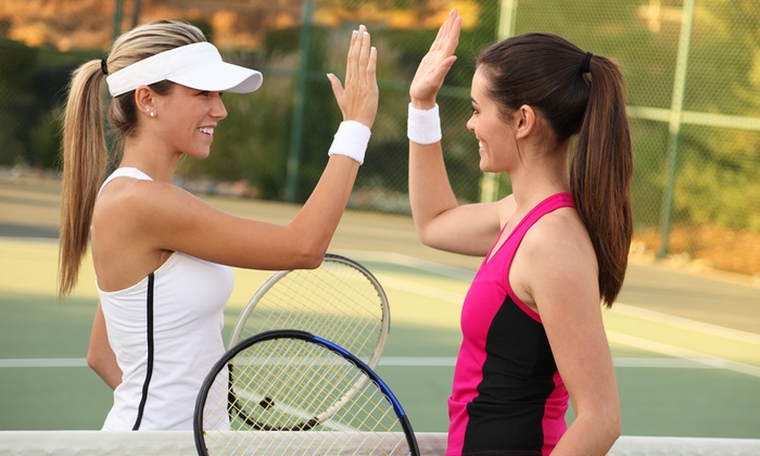 "Maine Pines Racquet & Fitness - Pond Road: ""1-2-3 Tennis"" Program for One or Two at Maine Pines Racquet & Fitness (55% Off)"