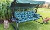 Coussin adapté pour balancelles et bancs de jardin, Hobbygarden
