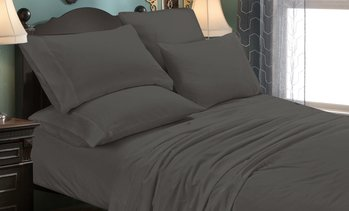 Luxury Home Dark Color Collection Soft Microfiber Sheet Set (6-Piece)