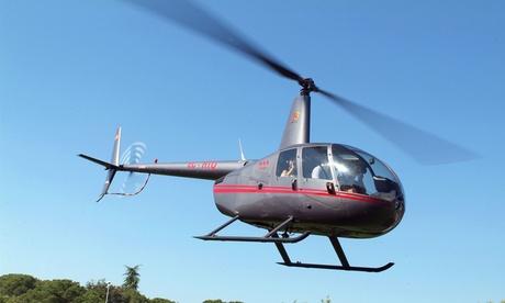 Vuelo de 6 o 12 minutos en helicóptero desde 69€ con BG Helicopters