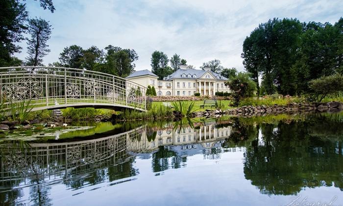 Małopolska: pokój standard z wyżywieniem w pałacu