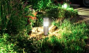 6 lampes LED à énergie solaire