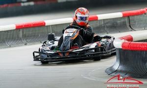 Michael Schumacher Kart & Event Center: 3 Einzelfahrten à 10 Min. inkl. Leih-Helm für 1 Person im Michael Schumacher Kart & Event Center (32% sparen*)
