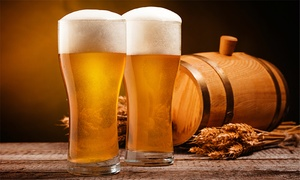 The Bottle Shop - World Beer Co.: Beer College Class for Two or Four with Growlers at The Bottle Shop (Up to 62% Off)