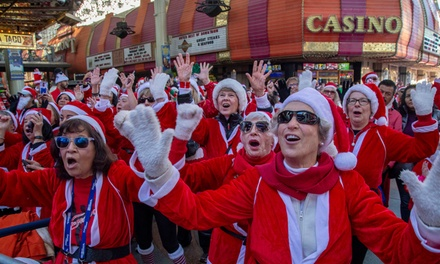 One or Two Adult Entries to Las Vegas Great Santa Run on December 7, 2019 (Up to 37% Off)