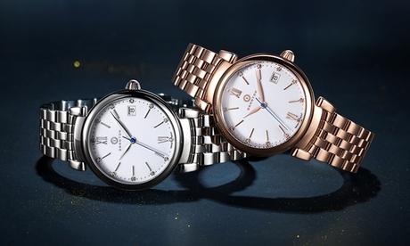 Reloj Imperial Granton para mujer con 12 diamantes naturales (envío gratuito)