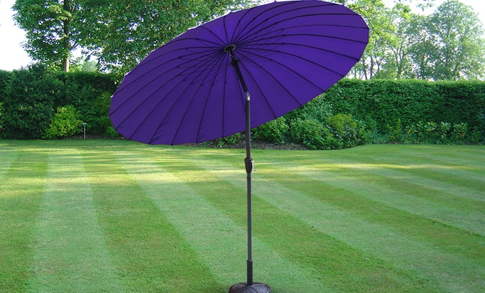 Purple 2.6m Aluminium Parasol for €74.99 With Free Delivery