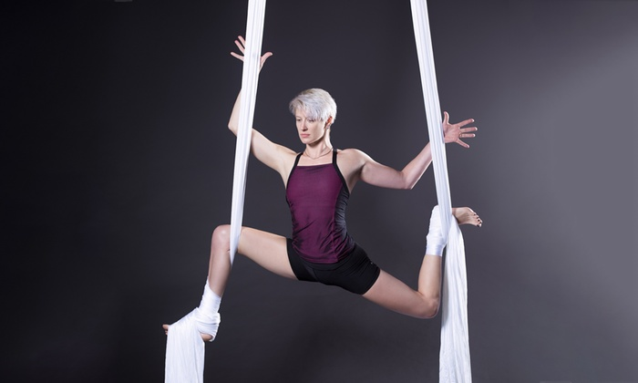 Aerialize - Canterbury: Aerial and Circus Arts Class - One ($19), Three ($54), Five ($83) or Ten ($155) at Aerialize, Canterbury (Up to $400)