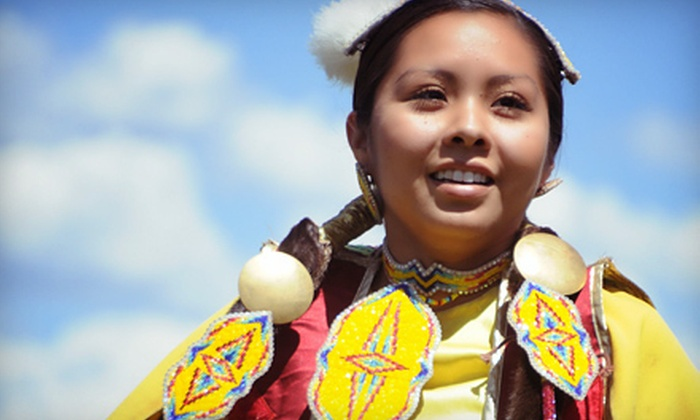 Heber Valley Pow-Wow - Midway: $10 for a One-Day Family Pass Valid June 15, 16, or 17 to the Heber Valley Pow-Wow in Midway ($20 Value)
