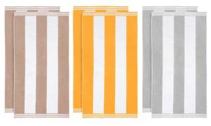 Superior 100% Cotton Oversized Cabana-Stripe Beach Towels (2-Pack) at Superior 100% Cotton Oversized Cabana-Stripe Beach Towels (2-Pack), plus 9.0% Cash Back from Ebates.