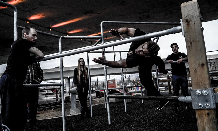 Classes, Open Gym, or Summer Camp at Myth Parkour (Up to 38% Off). Six Options Available.