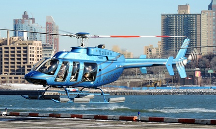 Classic Manhattan Helicopter Tour with Photo for One or Two at Manhattan Helicopters (Up to 26% Off)