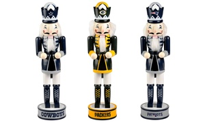 Forever Collectibles NFL Holiday Nutcracker