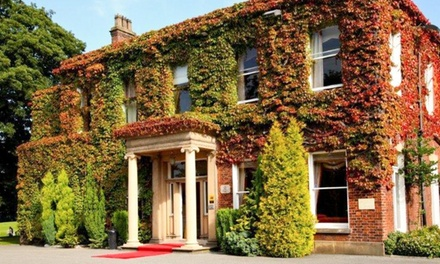 Lancashire: 1 to 3 Nights for Two with Breakfast, Wine and Optional Dinner at Farington Lodge
