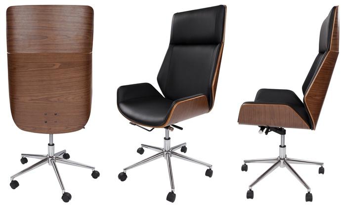Bureaustoel Met Verstelbare Rugleuning.Tot 28 Op Verstelbare Bureaustoel Groupon Producten