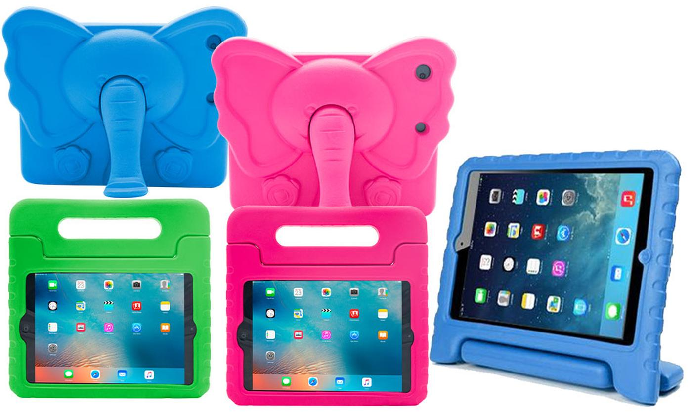 One or Two Children's Protective EVA Cases for iPad