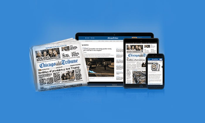 Chicago Tribune: One- or Two-Year Sunday Only Subscription to Chicago Tribune with Unlimited Digital Access (Up to 95% Off)