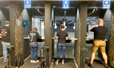 Shooting Range Package for One or Two at Bullet and Barrel (Up to 48% Off)
