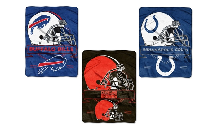 NFL 60″x80″ Extra Large Raschel Throws