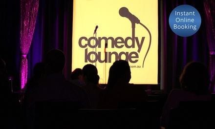 Entry to a Comedy Show ($10) Plus Wine or Beer ($15) at Comedy Lounge (Up to $32 Value)