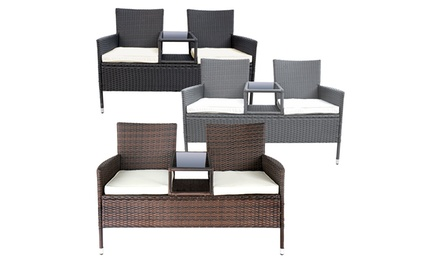 Cover for a Garden Seat £14.99 or a Rattan Garden Seat £119.99 With Free Delivery