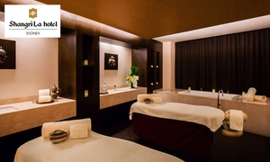 Chi, the Spa at Shangri-La Hotel, Sydney: Shangri-La Hotel Spa Package: Regular for 1 ($149) or 2 ($297); Deluxe for 1 ($179) or 2 Ppl ($357) (Up to $608 Value)
