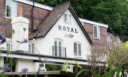 Traditional or Sparkling Afternoon Tea for Up to Four at The Royal Lodge (Up to 36% Off)