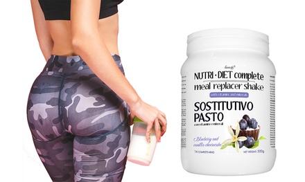 1 o 2 confezioni di Line@ Nutri Diet Complete con 19 vitamine e minerali, disponibile in 4 gusti