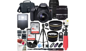 Canon EOS Rebel T6 Camera Bundle