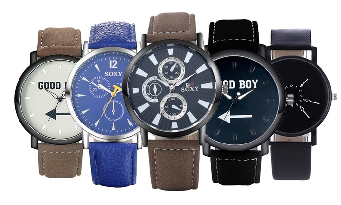 Men's Smart Casual Watch Collection