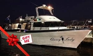 Classy Lady Charters: From $179 for Full-Day Fishing Charter + Gear, Sausage Sizzle & Drinks with Classy Lady Charters (From $250 Value)