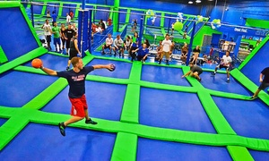 Up to 42% Off at AirHeads Trampoline Arena