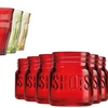 Mason Jar Shot Glasses Set (6-Piece)