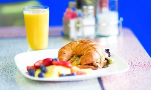 Square Cafe: Seasonal Breakfast and Lunch Food at Square 45% Off). Four Options Available.