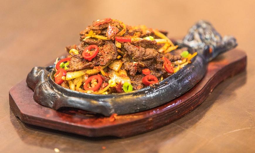 Sizzling Hot Pot Menu