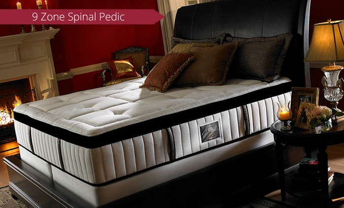 Spinal-Pedic Bamboo Latex Mattress with Gel Euro Top - Queen ($499) or King ($599)