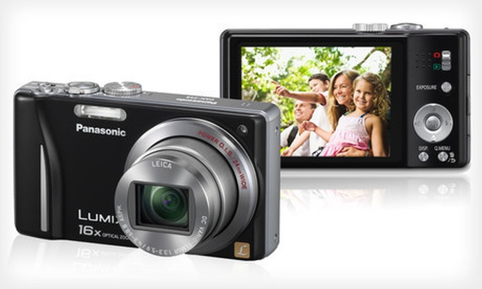 Panasonic LUMIX Z8 14MP Camera with 16x Optical Zoom: $149 for a Panasonic Lumix 14.1-Megapixel Digital Camera ($229.99 List Price). Free Shipping.