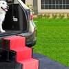 Accordion Folding Pet Steps with Metal Frame