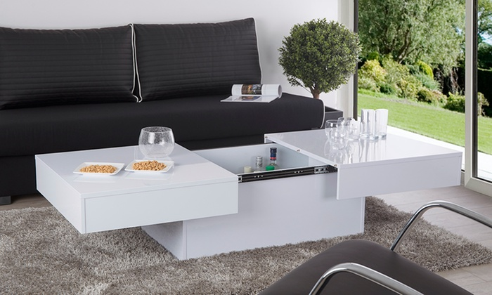 table basse coffre dany groupon. Black Bedroom Furniture Sets. Home Design Ideas