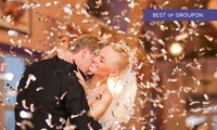 Wedding Package for 50 or 100 Day and 50 or 100 Evening Guests at Hilton Strathclyde Spa & Leisure (Up to 48% Off)