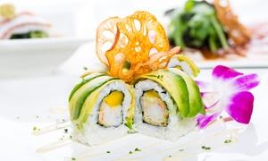 Sushi Factory: Wertgutschein über 20 € oder 40 € anrechenbar auf Speisen und Getränke in teilnehmenden Filialen der Sushi Factory
