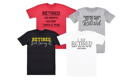 Men's Retired Print TShirt