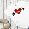 Up to 52% Off Personalized Love Themed Ladies T-Shirts