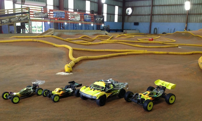 Space Coast R/C  - Cocoa: Open-Practice RC Car Track Time or One-Hour RC Car Rental for One or Two at Space Coast R/C (Half Off)