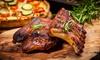 3-Gänge-Menü mit BBQ Spare Ribs