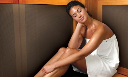 $59 for Two Infrared Therapy Sessions + Two Take-Home Spa Salt Packets at The Salt Therapy Centre (Up to $118 Value)