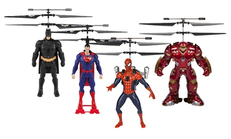 Marvel or DC Comics 2CH IR RC Helicopter Flying Figure 7eb68d58-9809-11e7-9bc5-002590604002